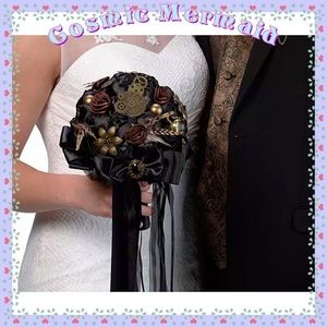 Dresses & Skirts - 🆕⭐️Unique Steam Punk Bridal Bouquet⭐️